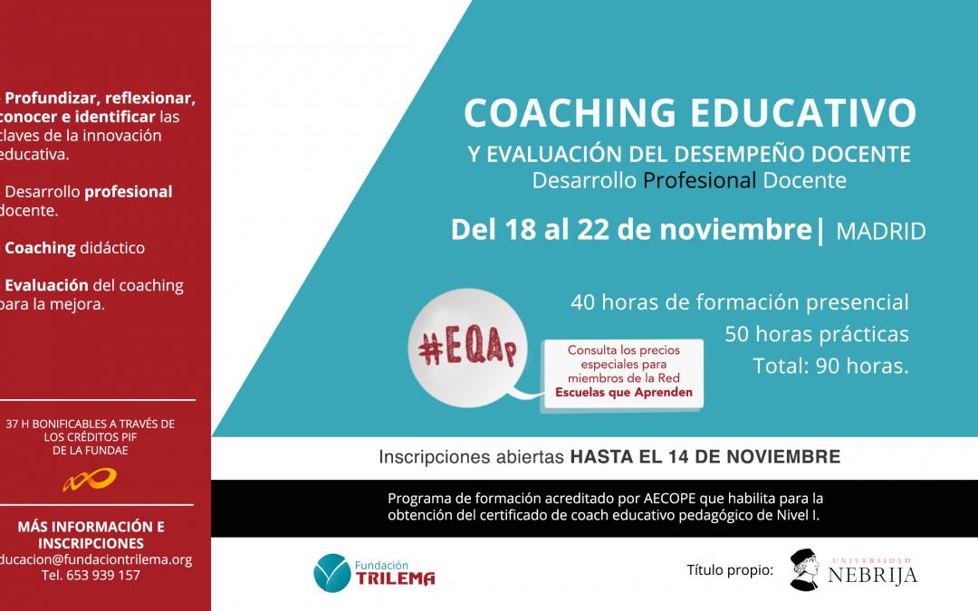 Nuevo curso de Coaching Pedagógico