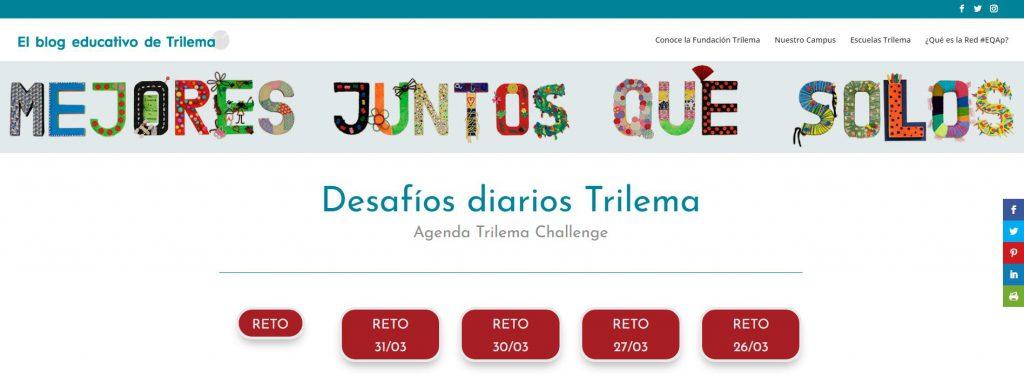 El Blog educativo de Trilema con Desafíos Challenge y Retos